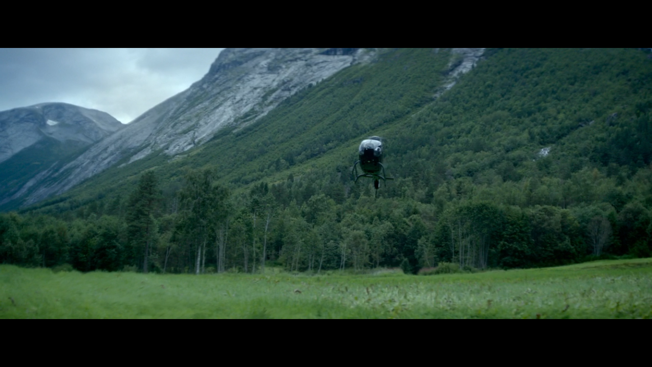 Helicopter in Ex Machina